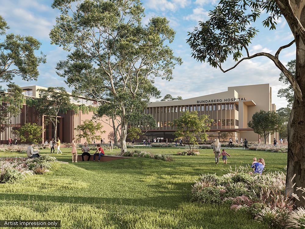 Bundaberg Hospital Redevelopment Project Queensland Health