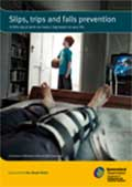 Cover of the slips, trips and fall prevention booklet