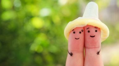 Do you know the symptoms of queenslands most commonly diagnosed a persons two fingers with cartoon faces drawn on the fingertips the tips crowned by solutioingenieria Images