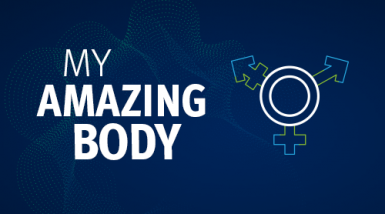 The My Amazing Body logo
