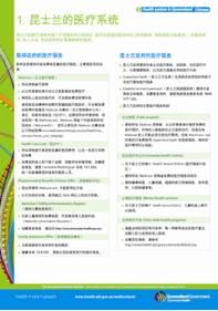 Factsheet in Chinese