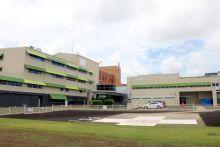 Bundaberg Hospital Helipad and entrance.