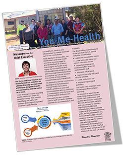 The latest edition of You-Me-Health newsletter