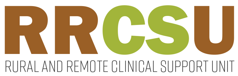 Rural and Remote Clinical Support Unit (RRCSU) logo