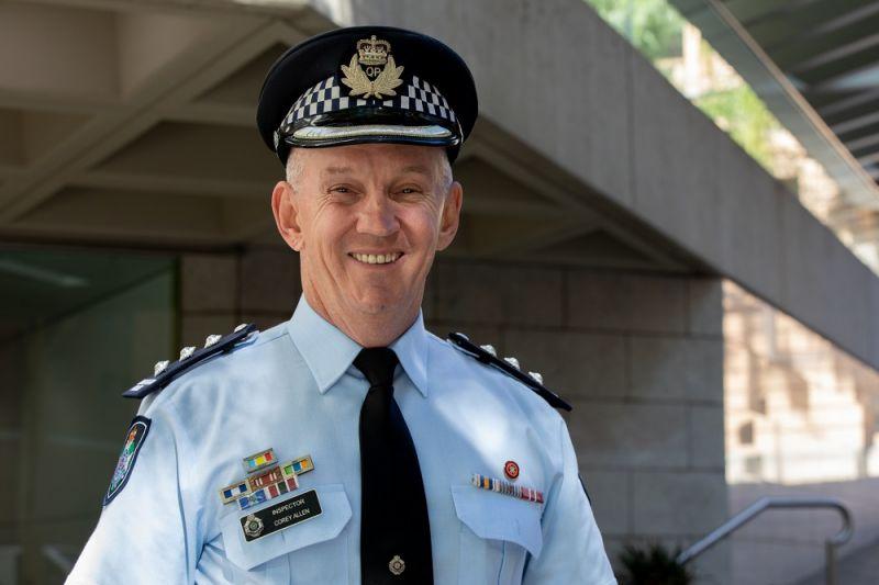 A photo of Inspector Corey Allen