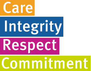 Care, Integrity, Respect, Commitment