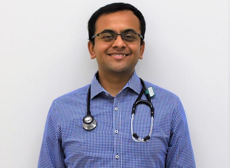 A photo of Dr Vishwas Raghunath
