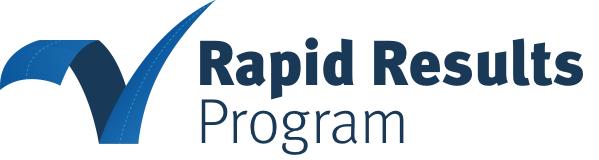 Banner for Rapid Results Program