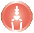 Icon showing strong bones information